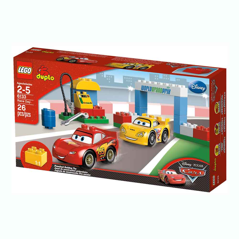 Cars  Lego Duplo Race Day