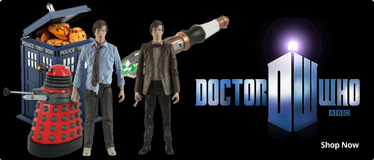 Doctor Who Toys and Houseware Items