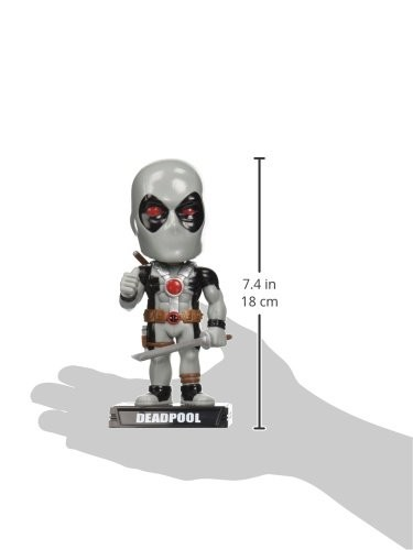 Funko Marvel Heroes: X-Force Deadpool Wacky Wobbler Statue