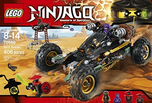 LEGO Ninjago 70589 Rock Roader Building Kit (406 Piece)